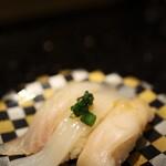 グルメ回転寿司 函太郎 - 白身三昧