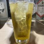 虎串 - 緑茶割り