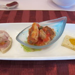 桔梗が丘ヴェルージュ - ステーキコース前菜