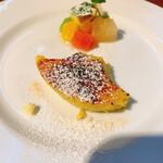 ピッツェリア ファリーナ - 安納芋のクリームブリュレ ¥550