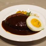 レストランあんどう - 料理写真:ハンバーグステーキ