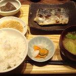 手仕ごと旬鮮台所 たかなし - 鰆の西京焼き