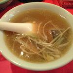 龍口酒家 - スッポンのスープ