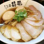 らぁ麺 飛鶏 - ・鶏そば全部のせ 980円       ・全部のせ 300円