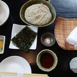 胡桃亭 - 蕎麦がき1,050円