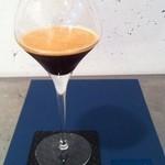 プレストコーヒー - カフェシャケラート エスプレッソWにグラニュー糖を加え、カクテル風にシェイクしました。 \600