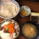 魚祥 - 漁師のまかない丼@950円