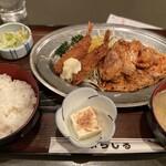 ぶらじる - エビ・ショーガ定食