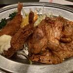 ぶらじる - 海老フライ&生姜焼き