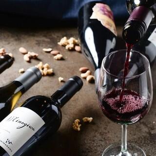 【充実】赤白ボトルワイン25種以上