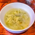 アウグスビール ラボ・キッチン - ランチに付いている スープ