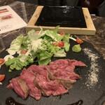 肉割烹 門 - 飛騨牛のともさんかく