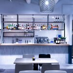 ピッツェリア&トラットリア アイドリック - 2階ドリンクカウンター