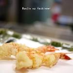 天婦羅 瀧口 - 料理写真:海老二本(松定食 2100円)