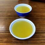 手打唐沢うどん そば かさはら - 韃靼蕎麦茶