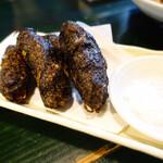 きんぱぎんぱ - もずくの天ぷら