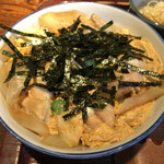 江戸久 - 親子丼、いぶし銀。