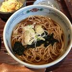 江戸久 - 蕎麦もこれでいいんです。落ち着きます。