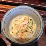 江戸久 - そしてサラスパ。麺&麺。