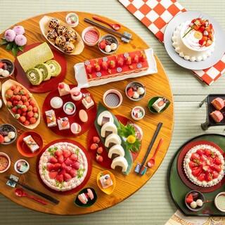 【大人気】季節のデザートビュッフェ