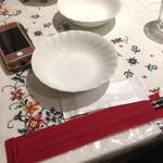 125736807 - 緋色の箸袋!