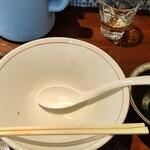 吟麺 今日華 - その他写真:完食完汁ですԐ=(´∀`*) ホッ♪