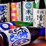旬菜炭火焼 燎 - 季節毎の厳選純米酒