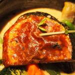 イエロー - チキン野菜カリー(カボチャ)
