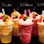 新東京紅茶 - Premium Tea mixed with fresh seasonal fruits.