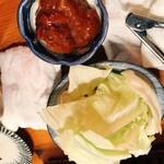 ○上水産 - 牡蠣味噌キャベツ