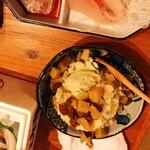 ○上水産 - ポテトサラダ いぶりがっこトッピング