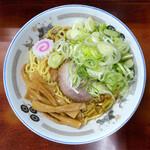 珍々亭 - 油そば … 700円 + ネギ盛 … 100円