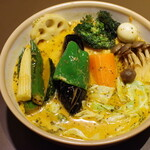 SOUP CURRY KING - チキン野菜カリー