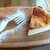 ユニオンカフェ - チーズケーキ