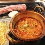 韓国飲食店ドヤジ屋 - 【サムギョプサルセット ¥2.000】