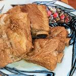 125760191 - ソーキそば(中)。別皿で出てくるソーキ