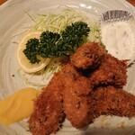 いわさき - 季節限定・カキフライ定食