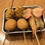 Kushikatsudengana - 小ぶりで可愛い串揚げ