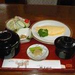 レストラン五明館 - オムレツ定食(2006年10月訪問)