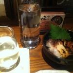 こころむすび - お通し&日本酒グラス&チェイサー