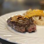 ステーキハウスひのき - 熊野牛ハンバーグ