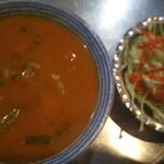 シャゴル - 料理写真:魚スープカレー