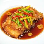 百楽 本店 - 油淋鶏(ユーリンチー)