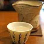 石臼挽き手打ち蕎麦 高はし - 黒龍 純米吟醸