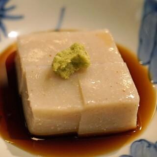 石臼挽き手打ち蕎麦 高はし - 料理写真:蕎麦豆腐