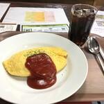 昔ながらの洋食 オールドキッチン - オムライス  780円