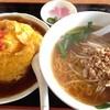 台湾料理 福祥居 - 料理写真:ランチセット 麺と丼 650円