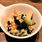 魚と日本酒 uchi  - お通し