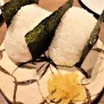 魚と日本酒 uchi  - おにぎり