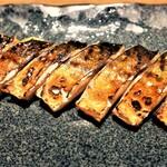 魚と日本酒 uchi  -   自家製 鯖のくんせい